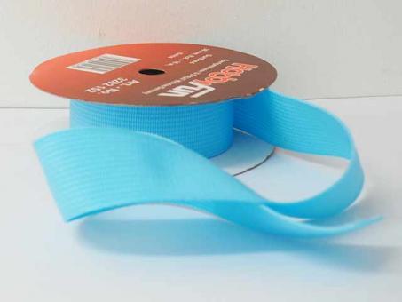 Gurtband 25 mm, pro meter, türkis
