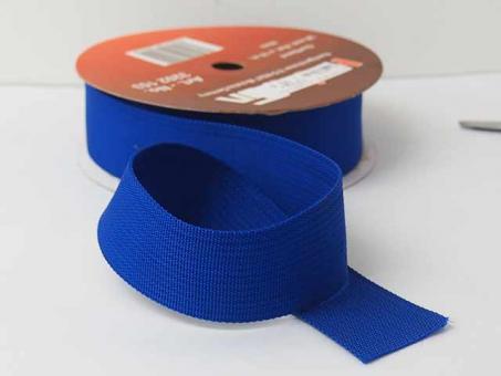 Gurtband 25 mm, pro meter, blau
