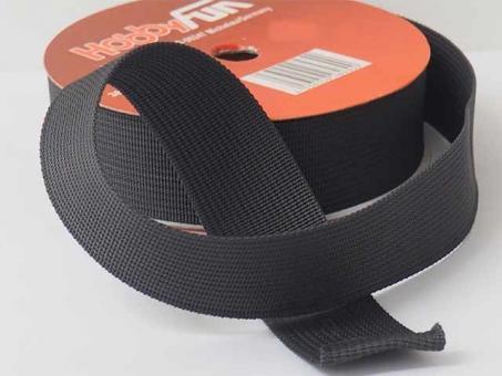 Gurtband 25mm (Polyester) - Dunkelgrau