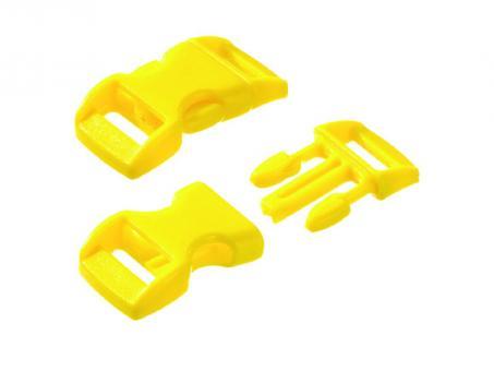 Steckschnalle-gelb--16 - 20 mm-