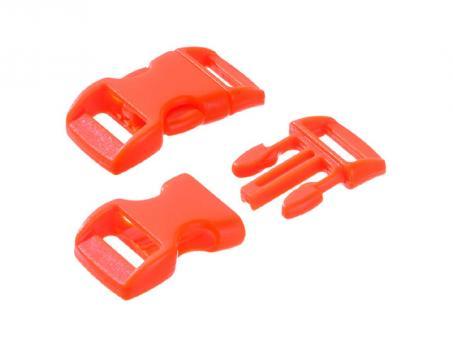 Steckschnalle-orange--16 - 20 mm-
