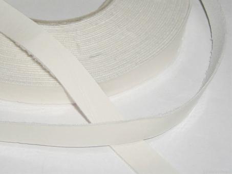 Lederstreifen 1cm breit pro Meter_weiß