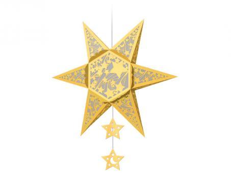 SILHOUETTEN-STERN -Falling Stars GOLD