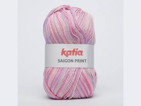 Sasigon Print - Rosa-Flieder