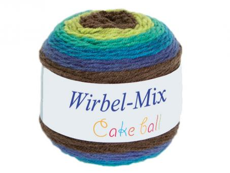 Wirbel Mix (Cake Ball) - Smaragd