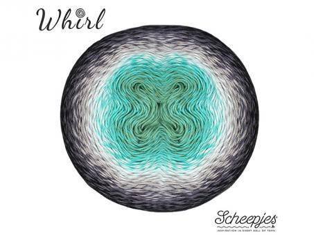Scheepjes Whirl - Minty Black Velvet