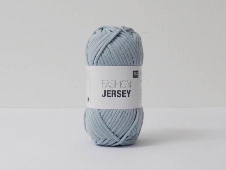 Fashion Jersey - Rauchblau