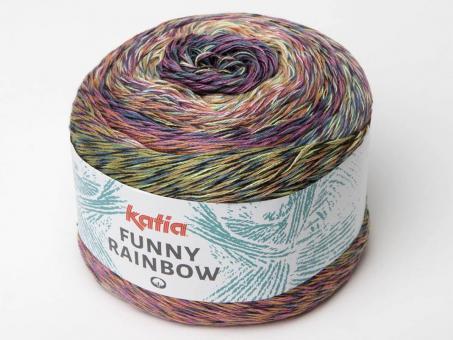 Funny Rainbow - Rosa-Orange (Bunt)