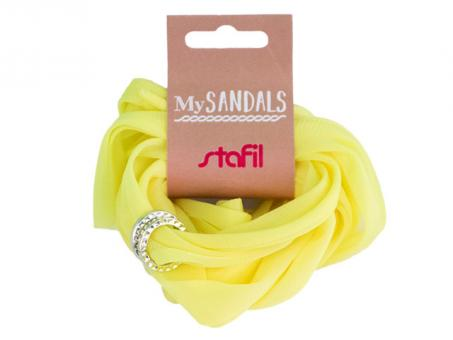 MySANDALS Sandalenband - Gelb