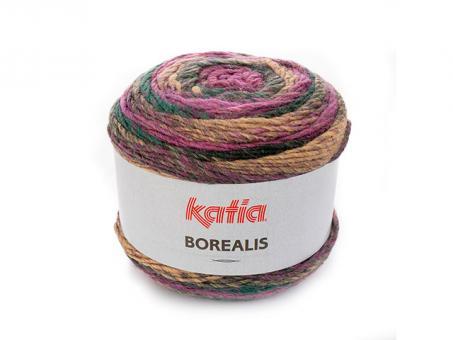 Borealis - Lila-Camel-Grün