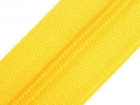 Reißverschluss Meterware M40 gelb