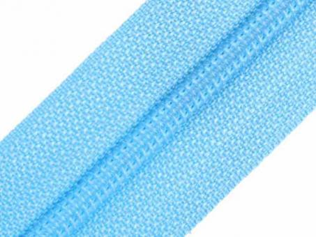 Reißverschluss Meterware M40 hellblau