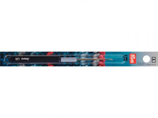 Prym Garn-Häkelnadeln KST-Griff ST mm silberfarbig 1,75
