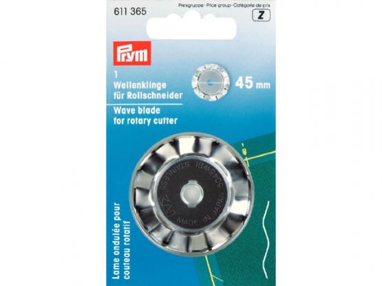 Prym Ersatzklinge fuer Rollschneider Wellen 45 mm