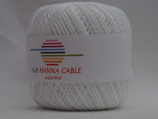 Hanna Cable weiß