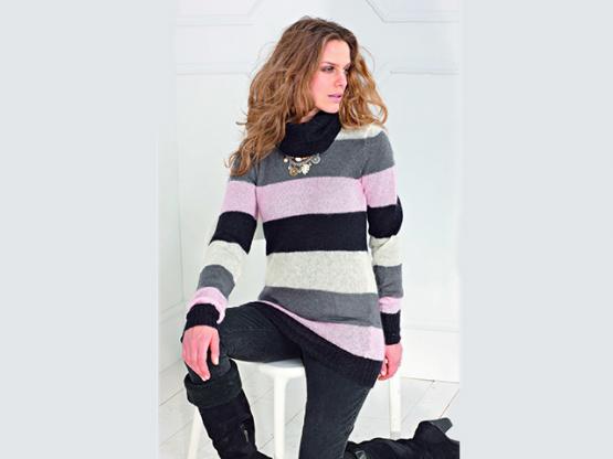 Anleitung  Kid Silk Pullover