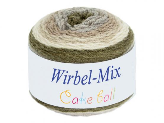 Wirbel-Mix Farbverlaufgarn beigetöne