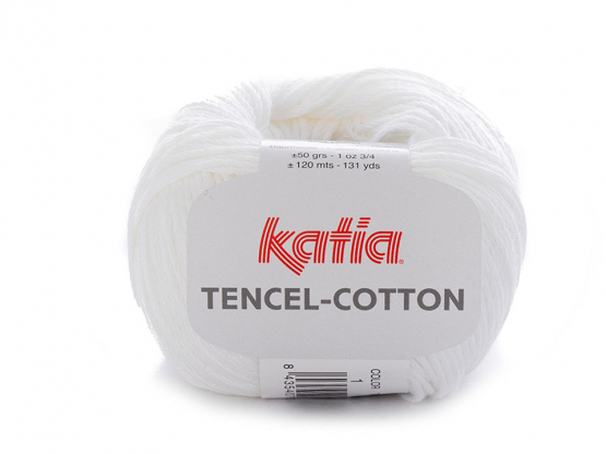 Tencel-cotton brilliantweiß