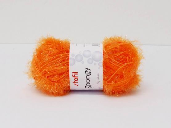 Spongy Garn 25g Orange