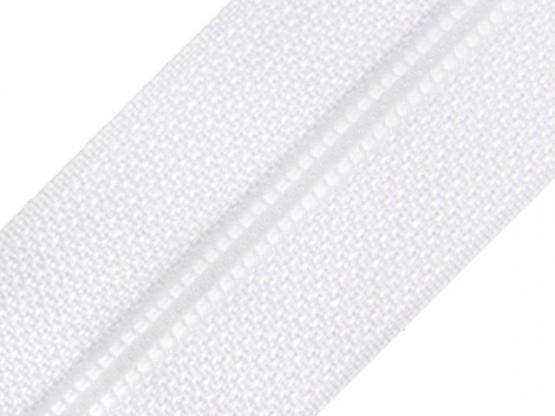 Reißverschluss Meterware M40 weiß