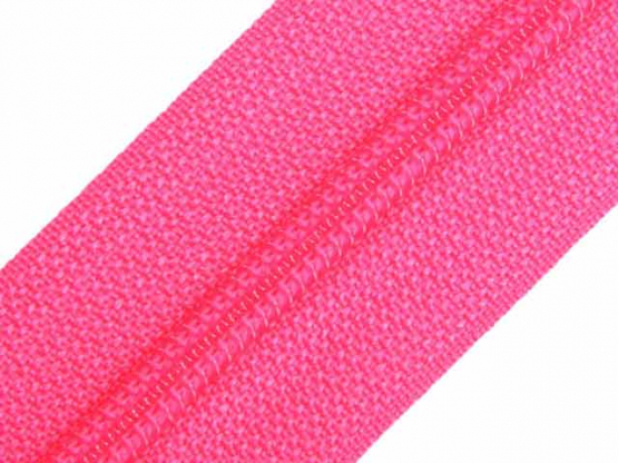 Reißverschluss Meterware M40 pink