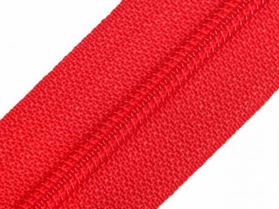 Reißverschluss Meterware M40 rot