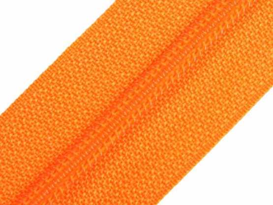 Reißverschluss Meterware M40 orange