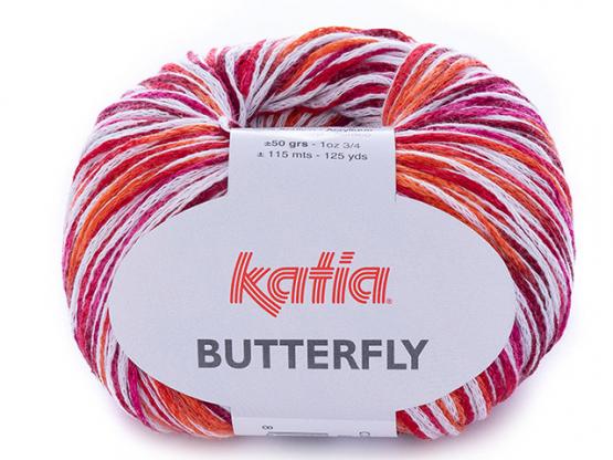 BUTTERFLY rottöne-orange
