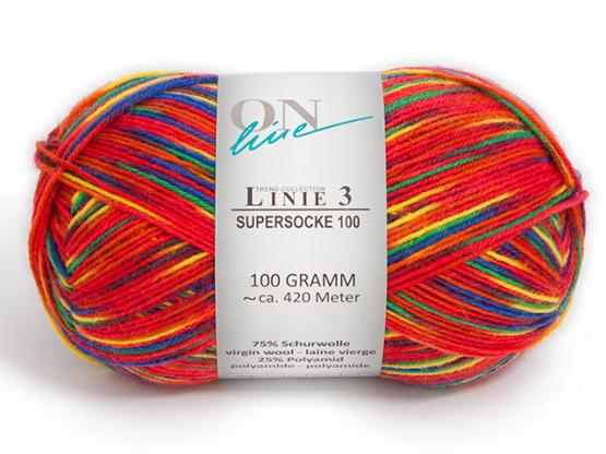 Sockenwolle SUPERSOCKE 100 COLOR