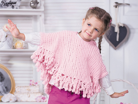 Anleitung Kinderponcho