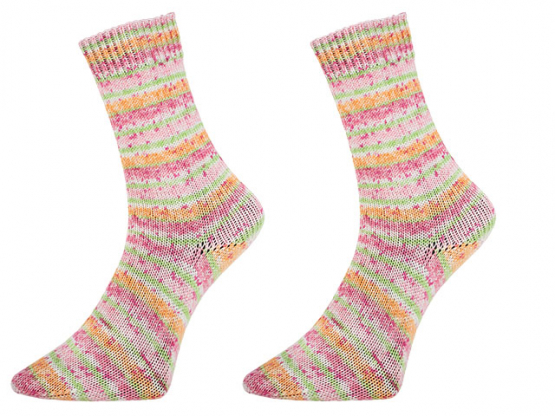 Sockenwolle Bamboo Socks color mandarin