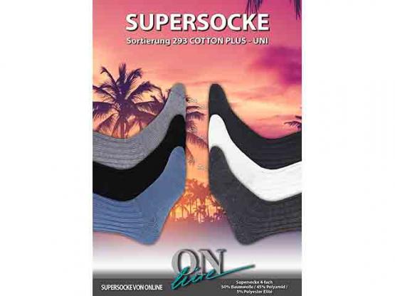 Sockenwolle Supersocke 100 Cotton plus