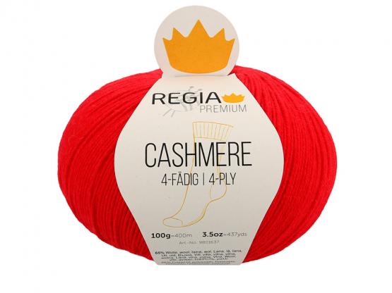 Schachenmayr Regia Cashmere 4-fädig rot
