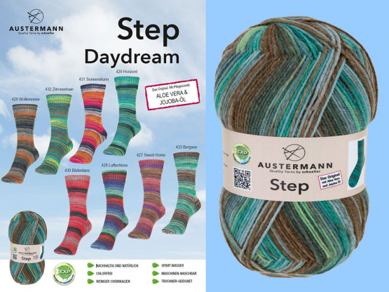 Sockenwolle Step DAYDREAM COLOR