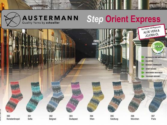 Sockenwolle Step ORIENT EXPRESS