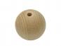 Rohholzkugeln gebohrt ø 8 mm 4 Stk. 35mm